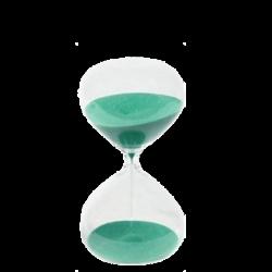 Reloj clásico de arena 3 minutos
